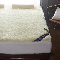 羊毛床垫床褥子保暖1.5m 1.8m双人床 榻榻米垫被学生单人宿舍褥子 床笠式 长羊毛床垫