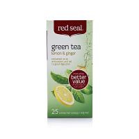【网易考拉】【驱寒抗感冒】Red Seal 红印柠檬生姜绿茶 25包/盒