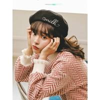 荷叶边半高领毛衣裙子冬季装女2019新款韩版宽松法式气质连衣裙潮