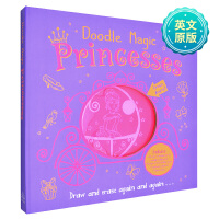 Doodle Magic:Princesses涂鸦魔术:公主 儿童动手书