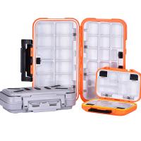 渔具钓鱼防水配件盒小路亚盒 工具盒储物盒鱼钩收纳盒垂钓用品
