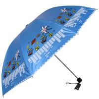 天堂伞黑胶伞两用晴雨伞防晒伞33352e海岛之旅女士伞雨天晴天两用伞