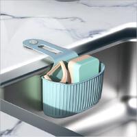 厨房水槽挂袋吸盘水池收纳篮水龙头海绵沥水挂袋水槽收纳挂架