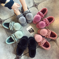 棉拖鞋女冬季包跟厚底韩版可爱室内家居防滑冬天居家用保暖月子鞋