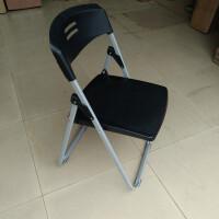 加固可折叠椅办公椅会议椅电脑椅座椅培训椅靠背餐椅家用塑料椅子T