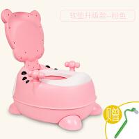 加大号儿童马桶坐便器男女宝宝便盆婴幼儿尿盆小孩座便器 (软垫款)