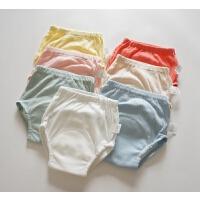 会呼吸的薄尿裤 婴幼儿练习裤 纯棉透气训练裤 四层纱布裆尿布兜