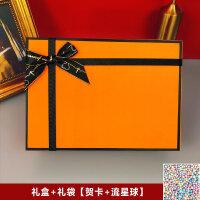 �Y物盒子ins�L精美�n版抖音�W�t�Y品盒大�生日伴手�Y盒包�b空盒