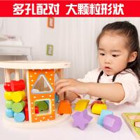 宝宝玩具0-1-2-3岁以下早教女孩幼儿童婴儿积木 一周岁半男