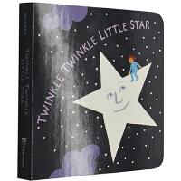 英文原版绘本 Twinkle Twinkle Little Star 一闪一闪亮晶晶 小星星 欧美儿歌童谣纸板书 su