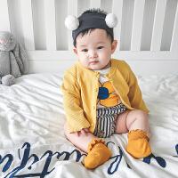 妈咪kiss蓓莱乐婴童装男宝宝春装4外套装2婴儿卫衣服0洋气1岁春秋
