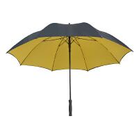 直杆雨伞 男士商务黑色直柄伞 超大三人抗风绅士伞