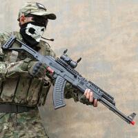 手动AK47水弹枪下供弹仿真cs可发射狙击抢水晶冲锋儿童玩具枪