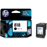 原装正品惠普(HP)CC640ZZ 818号 黑色墨盒(适用Deskjet D1668 D2568 D2668 D55