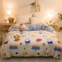 伊迪梦家纺 全棉单品被套被罩单件 高支高密纯棉斜纹面料 单双人大小规格家纺床上用品YJ102