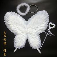 新款蝴蝶羽毛翅膀 天使翅膀儿童表演道具 舞台模特走秀演出