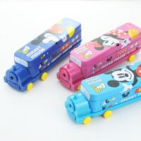 物有物语 文具盒 小学生笔盒男童创意汽车造型铅笔盒铁盒儿童米奇
