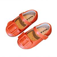 女童鞋子春秋单鞋儿童女孩公主时尚豆豆鞋奶奶鞋