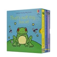 Usborne That Not My Frog, Bear, Donkey Collection 那不是我的系列 3册
