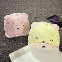 儿童鸭舌帽春秋6-个月婴儿帽子遮阳帽男女宝宝帽子1-2岁韩版潮