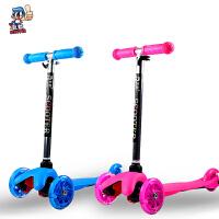 1-6岁儿童滑板车宝宝三轮摇摆滑行车踏板车