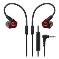 铁三角(Audio-Technica)ATH-LS200iS 入耳式耳机 魅红色