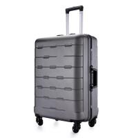 配色�X框�f向�拉�U箱�X框�W生行李箱PC大容量旅行箱�p震�硬箱