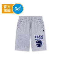 【折后叠券预估价:24.4】361度 男童针织五分裤 夏季新款K51821521