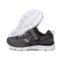 SKECHERS斯凯奇童鞋2018秋季新品男童网布魔术贴跑步鞋运动鞋