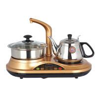 金灶D22电磁茶炉茶具自动上水抽水消毒茶具烧水壶三合一