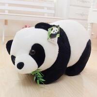 熊猫公仔毛绒玩具黑白布偶抱枕抱抱熊大号玩偶娃娃情人节礼物