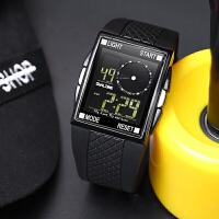 ots中学生手表男韩版潮男户外运动电子表防水夜光多功能儿童手表SN8583