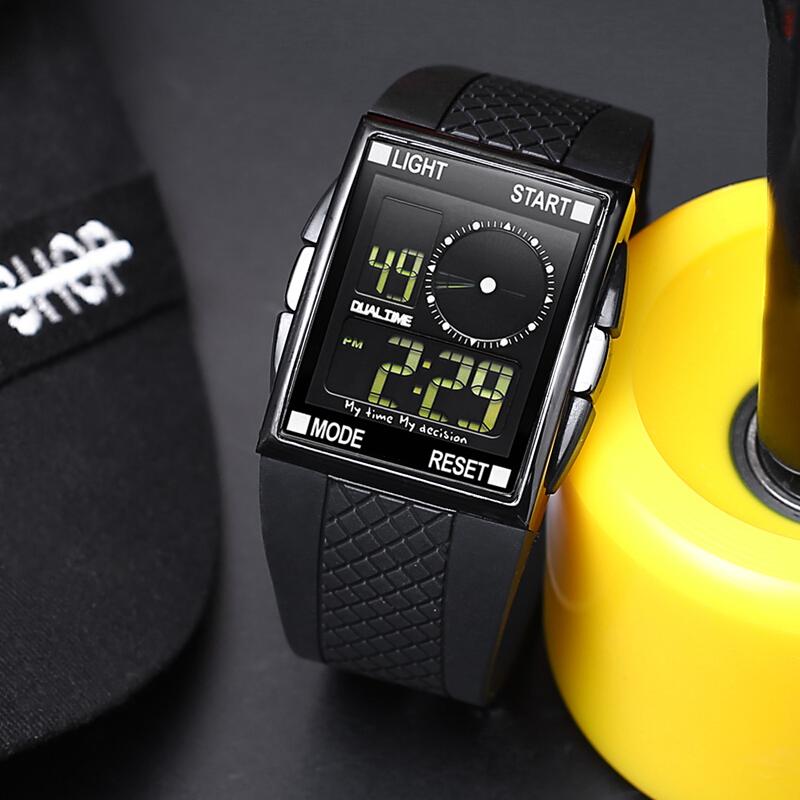 ots中学生手表男韩版潮男户外运动电子表防水夜光多功能儿童手表SN8583 发货周期:一般在付款后2-90天左右发货,具体发货时间请以与客服协商的时间为准