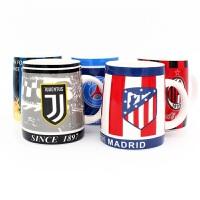 马克陶瓷杯子办公室水杯足球皇马AC米兰尤文阿森纳印花创意水杯球迷纪念品生日礼