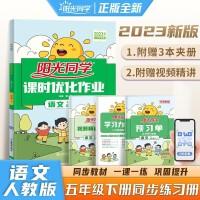 阳光同学课时优化作业五年级下册语文部编人教版 2021春新版