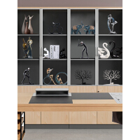 北欧家居酒柜装饰品摆件现代客厅电视柜玄关小摆件创意简约工艺品