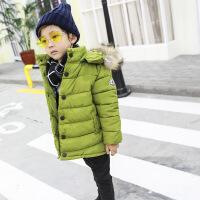 小童棉衣男冬1一3岁潮新款男童棉袄冬季幼儿男宝女宝冬装外套