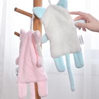 创意宝宝挂式毛巾情侣毛巾卡通可爱儿童韩式擦手巾柔软吸水