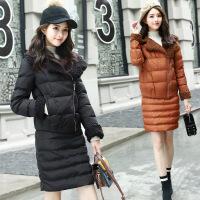 女装冬季新款套装女加厚棉衣外套包臀半身裙两件套