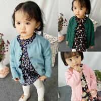 婴童装女宝宝春装3开衫外套6婴儿衣服7韩版1岁春秋