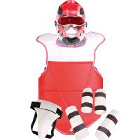 儿童跆拳道护具全套五件套男生加厚护甲护具训练套装