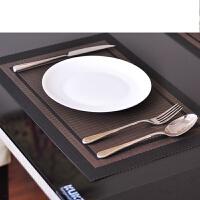 4片装创意餐具餐垫西餐垫餐桌垫子欧式隔热垫桌垫锅垫PVC定制