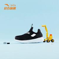 安踏(ANTA)官方旗舰店男女童鞋冬季小童绑带一脚蹬运动休闲鞋3-6岁A33849880