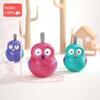 babycare猫头鹰 不倒翁玩具宝宝3-6-12个月婴儿早教益智玩具0-1岁