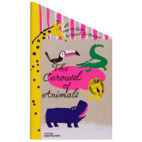 The Carousel of Animals动物旋转木马 创意立体图书 英文原版儿童图书