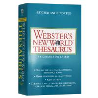 韦氏新世界英语同义词词典 英文原版 Webster's New World Thesaurus美语字典 英语学习工具书