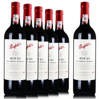 奔富BIN28 澳洲红酒 原瓶原装进口 干红葡萄酒 750ml*6 整箱