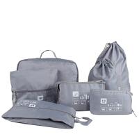 韩版旅行收纳套装 衣物整理7件套 旅游防水收纳包 便携式洗漱包