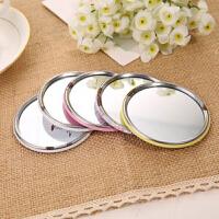 韩版卡通小镜子韩国可爱化妆镜随身便携梳妆镜简易小镜子 颜色随机发