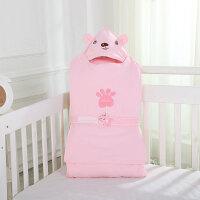 新疆长绒棉多功能宝宝睡袋 防踢被纯棉秋冬款加厚新生婴儿抱被睡袋